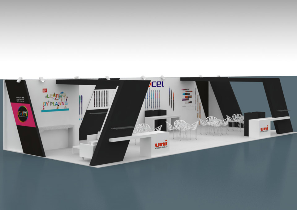 Expo Stands Interior Office 2016 : Excel
